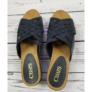 Chaps Blue Sandals Size 7